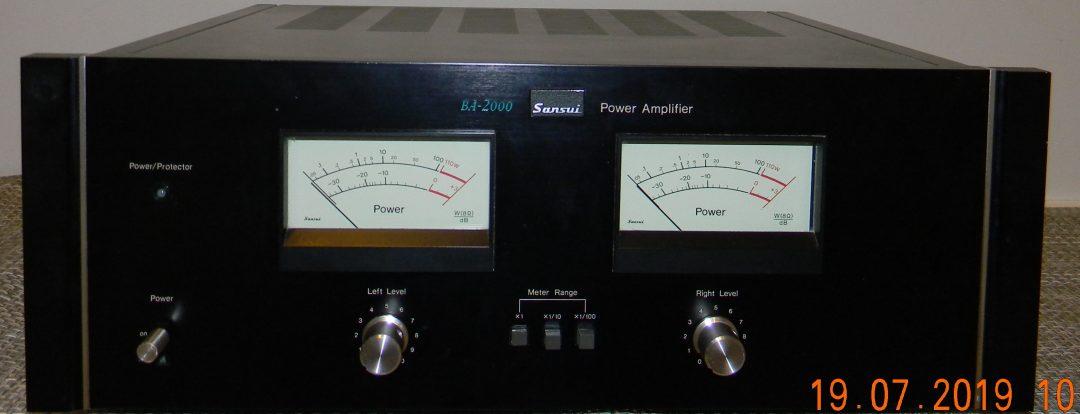 Sansui BA-2000 amplifier