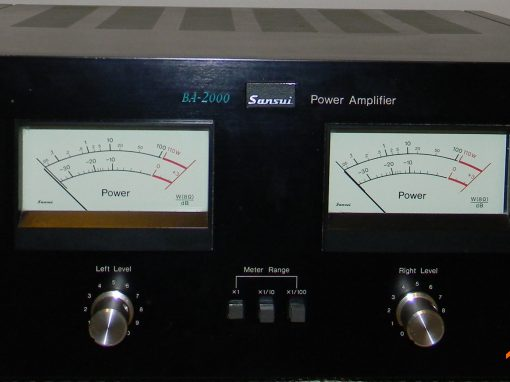 Sansui BA-2000 amplifier