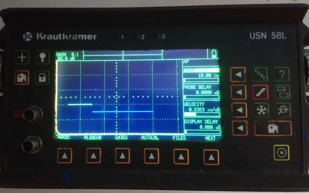 Krautkramer NDT tester repair