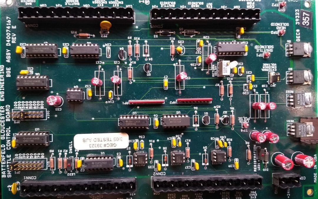 Batterfield control board